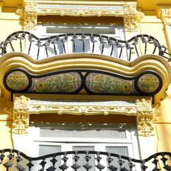 Balkon versiering