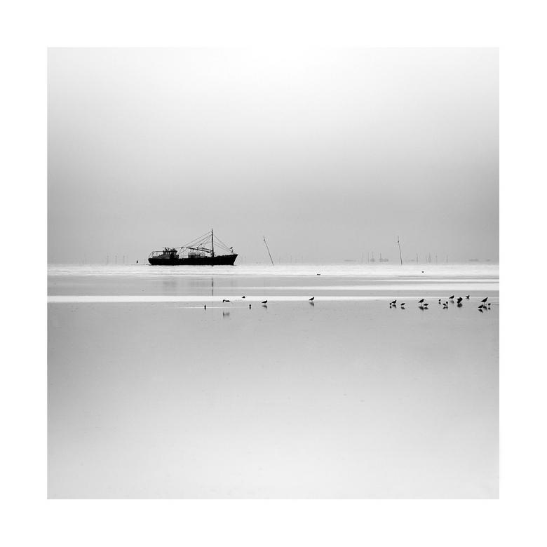 vissersboot vanaf Terschelling