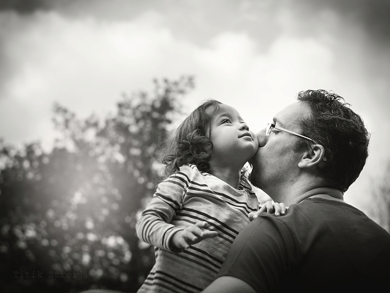 father and daughter -