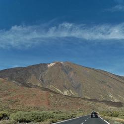 blik op de Teide ................