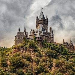 kasteel langs de Moezel met beetje toning....
