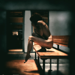 Do I dare to take the step again? - selfportrait