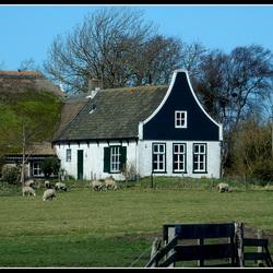 Oud Boerderijtje op Texel.