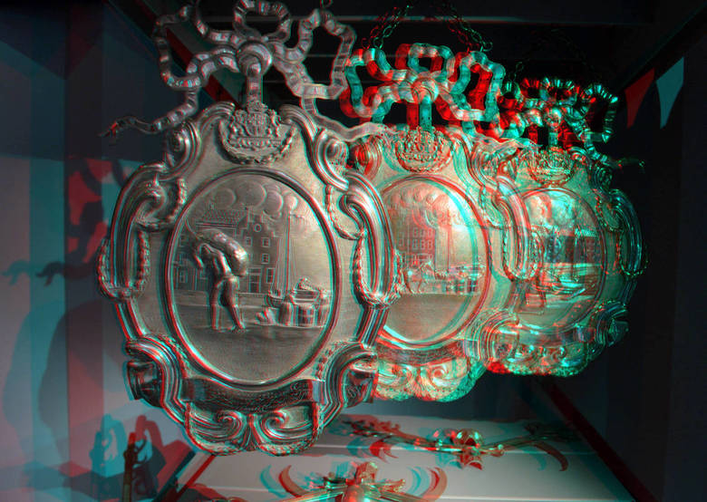 MUSEUM ROTTERDAM 3D - Museum Rotterdam<br /> 3d anaglyph stereo red/cyan