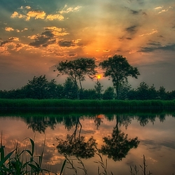 Sunset Westzaan