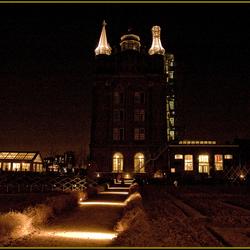 Villa Augustus by night