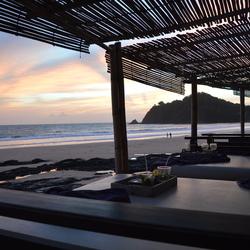 zonsondergang Koh Lanta Thailand