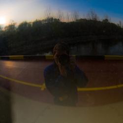 Zelfportret In Reflectie