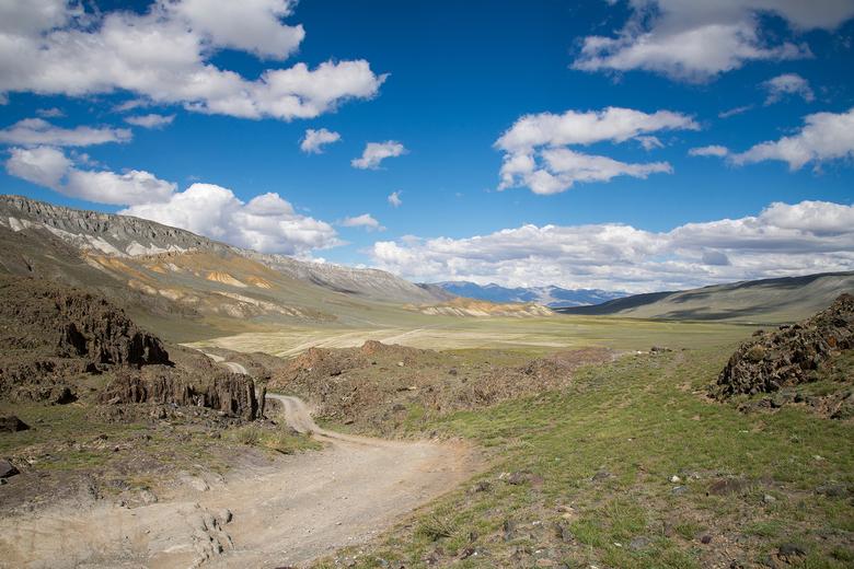 weg naar Beltir - Heerlijke offroad route die we meestal wel doen tijdens onze trips in Siberie.