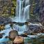 HDR foto Waterval IJsland