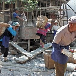 Bouwplaats Yunnan