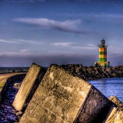 Pier bij IJmuiden