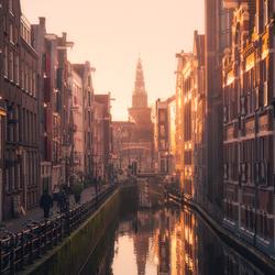Glowing Amsterdam