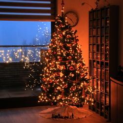 Kerstsfeer binnen