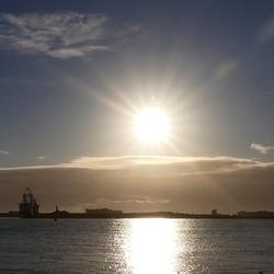 Vanaf de Noordpier bij Wijk aan Zee.