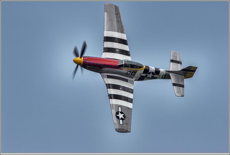 airshow Oostwold  - Mustang