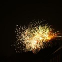 Vuurwerk in Drenthe