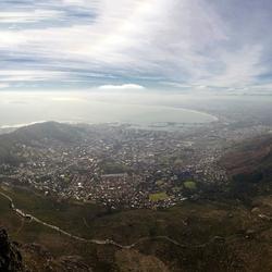 Kaapstad vanaf de Tafelberg