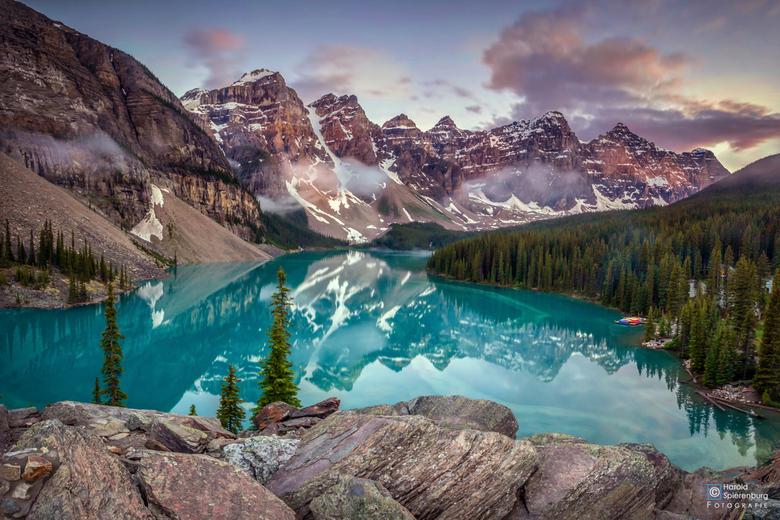 Moraine Lake - Moraine Lake, Canada<br /> <br /> <br /> <br />