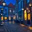 De oude en smalle straatjes van Heusden