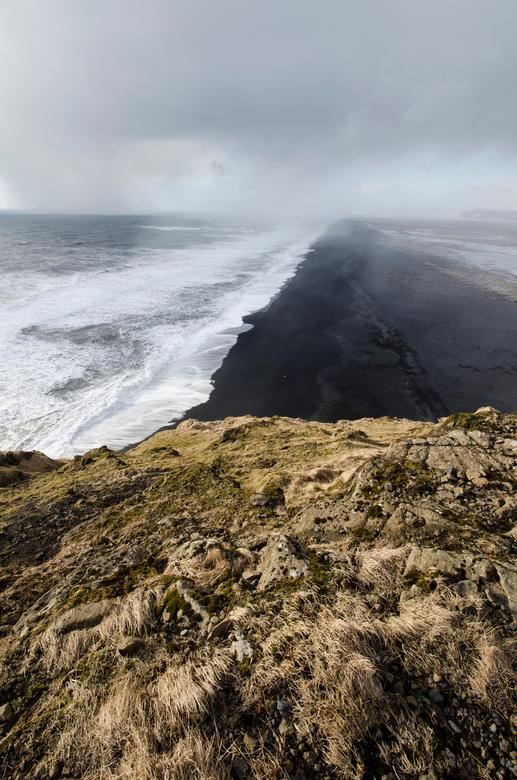 Iceland - Black Beach -