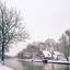 Vooroorlogse wintersfeer langs de Vecht