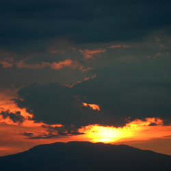 Altijd mooi, zonsondergang
