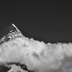 De Matterhorn met een dekentje
