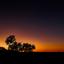 Sunset Sossusvlei, Namib Desert, Namibie