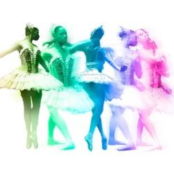Kleurencompositie Danseres Zoom 2009