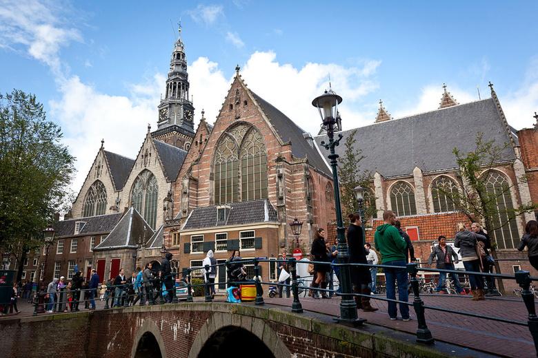 Nederland Amsterdam Oude kerk