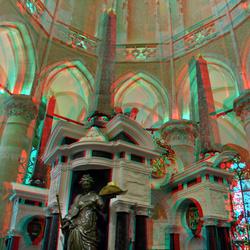 Mausoleum Nieuwe Kerk Delft 3D