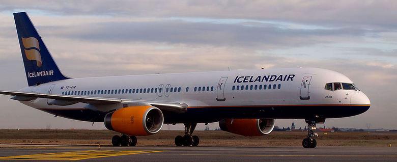 Icelandair b-757 -