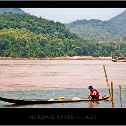 mekong river - laos