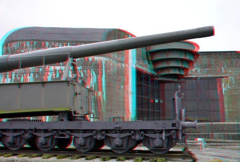 Musee Batterie Todt Audinghen 3D - Musee Batterie Todt Audinghen 3D<br /> anaglyph stereo red/cyan