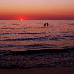 Noordwijkse zonsondergang