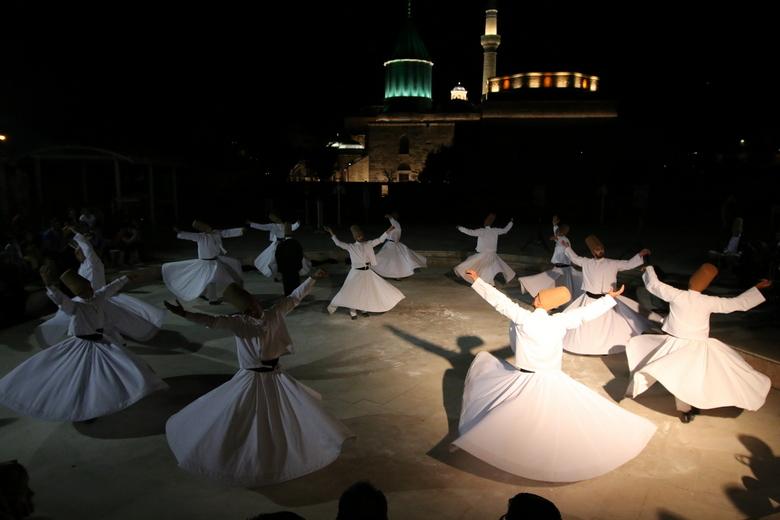 Derwishen-Konya - 'n Religieuze ervaring meemaken bij het heiligdom van de Derwishen in Konya