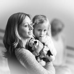 dochter en moeder liefde