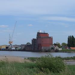 Industrie langs de Hollandse IJssel