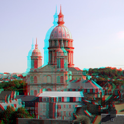 Cathedral Boulogne sur Mer 3D