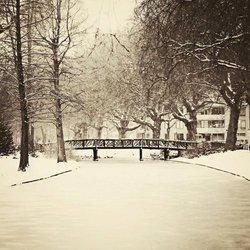 Goodbye little snow bridge