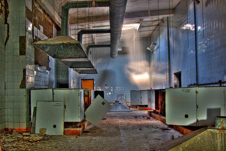 De Keuken - De Keuken in een Russische kazerne in de voormalige DDR.<br /> <br /> <br />