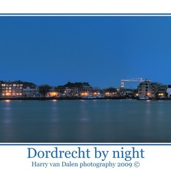 Dordrecht by night  (HDR panorama)