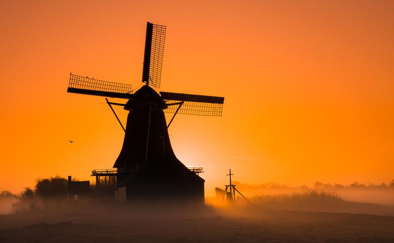 Sunrise in Zaandam