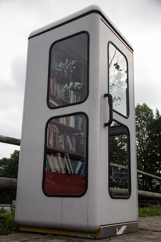 bibliotheek - Gezien op parkeerplaats in Winterberg.