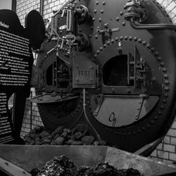 Ketel van een stoommachine
