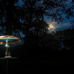Geen zon, geen regen... Alleen de maan