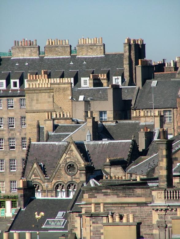 Edinburgh rooftops -
