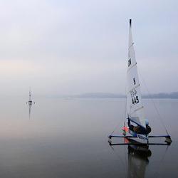 Racing the horizon...