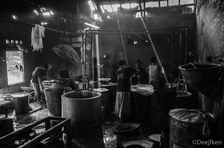 Tofu fabriek